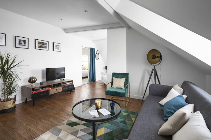 LE HERON, TWO BEDROOM APARTMENT IN NANTES