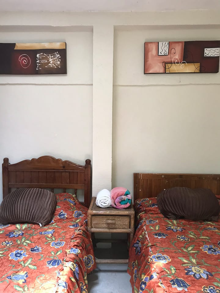 1 Acogedora habitación céntrica
