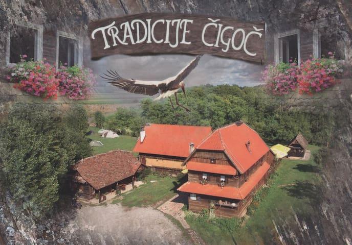 Tradicije Cigoc B&B - Čigoč - House