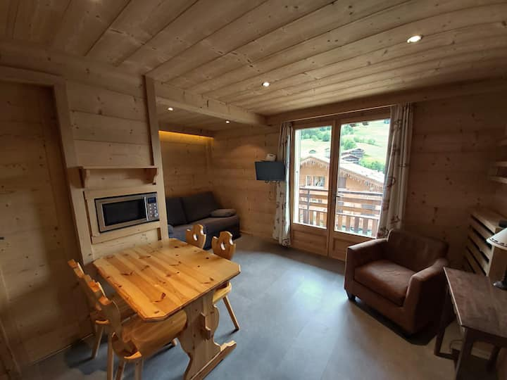 2-people studio - In the heart of the Aravis
