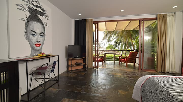 Sea front Terrace room in a 4* Boutique Hotel