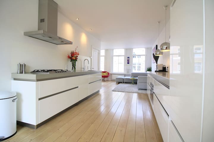Spacious design appartment for couples or families - Amsterdam - Wohnung