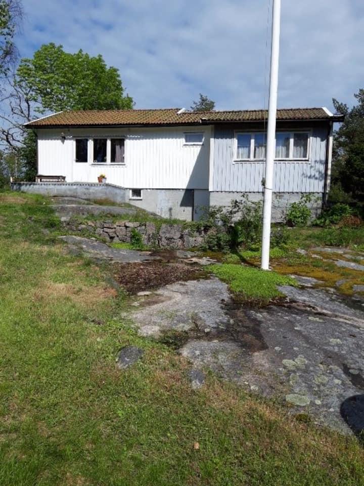 Charmig cottage on the Island of Rossö
