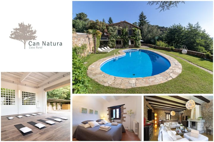Country House Can Natura in Natural Park Montseny