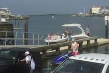 Marina at Bayshore Ave. -free launch for Jet Skis and small boats
