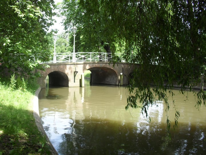 Lots of bridges to pass in Utrecht