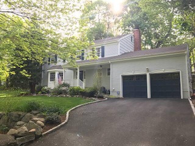 Amanda's Rowayton house