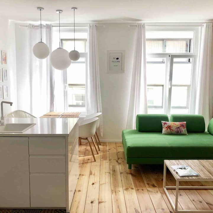 Happy Home Brussels with airco - 1 bedroom