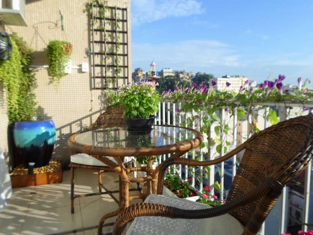 Lovely, 2 BR with  Sugar Loaf view - Rio de Janeiro - Apartment