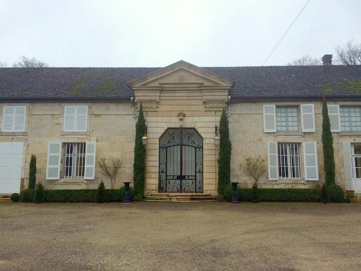 Château de Roches sur Rognon - Chambre Jaune