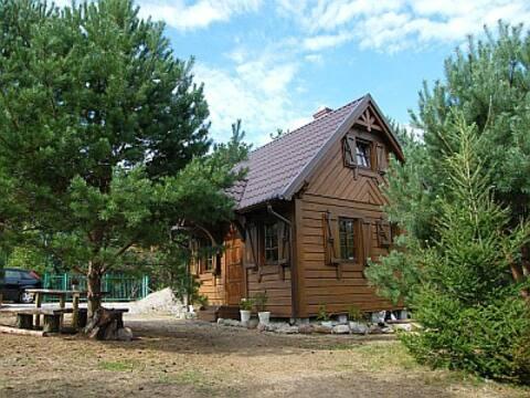Dom WIKTOR na Kaszubach - do jeziora 250 m