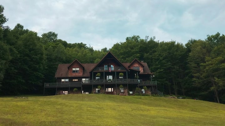 Rm6 Remote Log Lodge - Country Living Pennsylvania