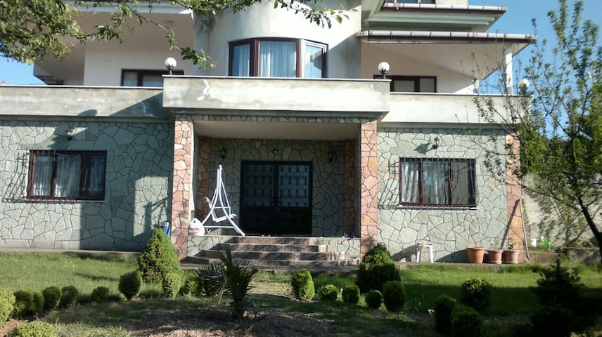 5+2 villa with a breath taking view of Trabzon