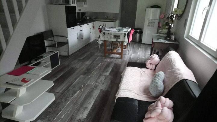 Au calme loft en duplex d'environ 70 m2