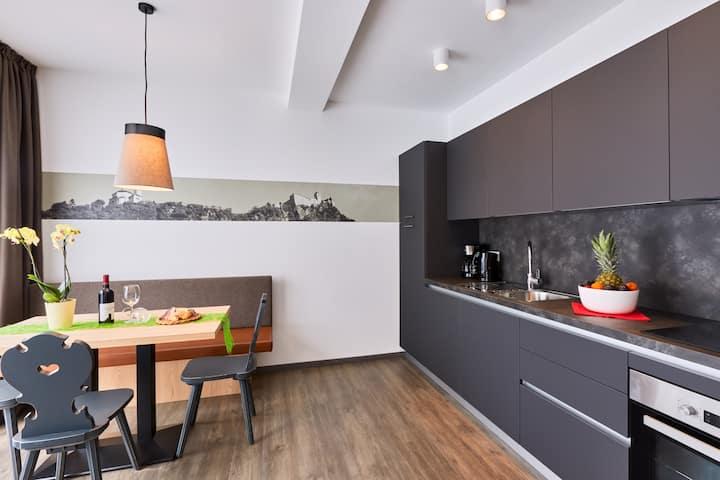 Laitacherhof: Neue Apartments mit Pool & Sauna