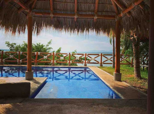 Hotel lago TEQUESQUITENGO PET FRIENDLY