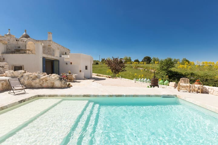 663 Trullo with Panoramic Pool in Martina Franca - Martina Franca