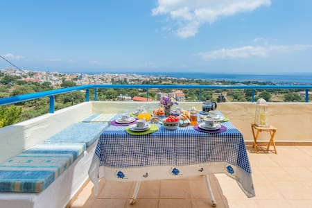 Villa Clio, Incredi..Blue view of Mediterranean - ロドス島