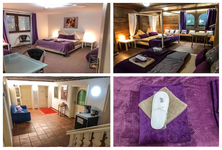 Munich east -Families Welcome- 2 rooms for 8+ Pool