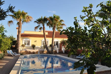 Beautiful holiday house with private pool. - Alacant - Pis