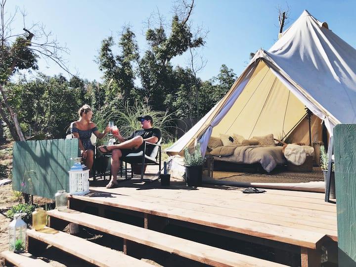 Bonsall Bell Glamping Tent