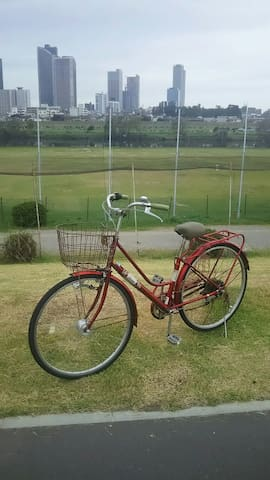 you can use this bicycle too! (free)