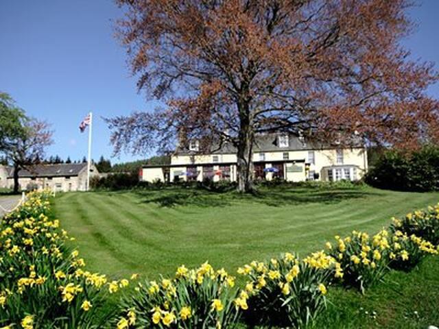 Colquhonnie Twin Room en suite rm10 - Aberdeenshire - Bed & Breakfast