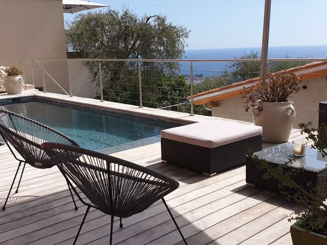 NEW! Zen & Modern Duplex with sea view
