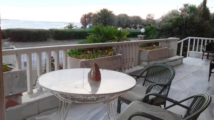 Sea front house  at Athinian-Voula Riviera