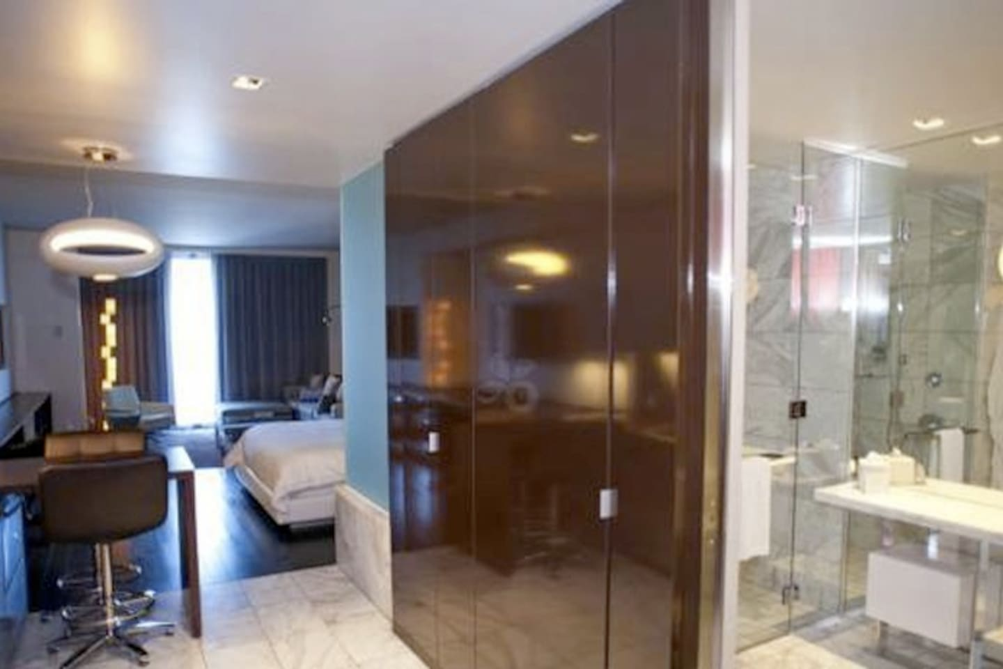 One Bedroom Suite At Palms Place Palms Place Strip View Balcony High Rise Boutique Hotels For