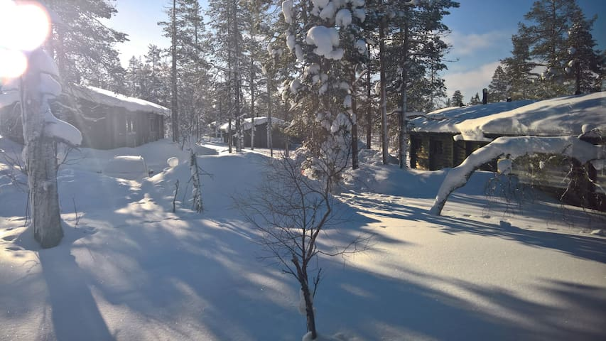 Holiday cottage for nature-enthusiasts, Saariselkä
