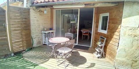 Petit logement proche du Marais Poitevin