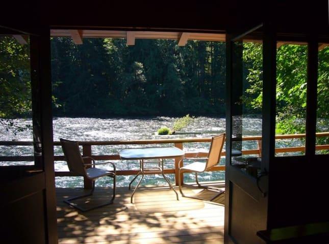 Romantic McKenzie Riverfront Cabin #1