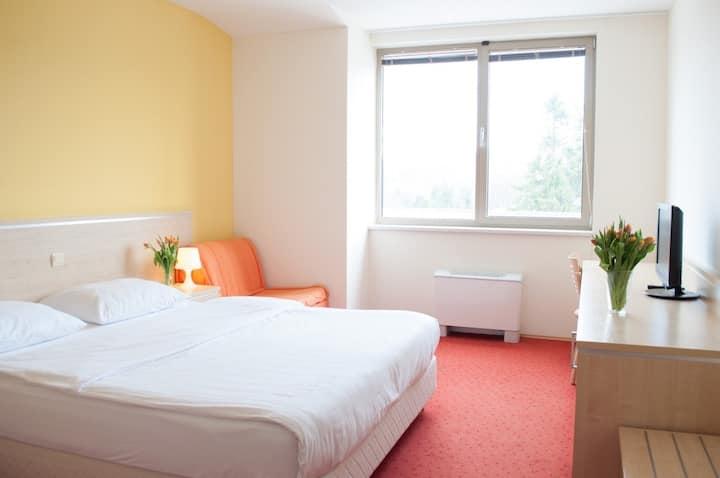 Erasmus hotel Postojna triple room