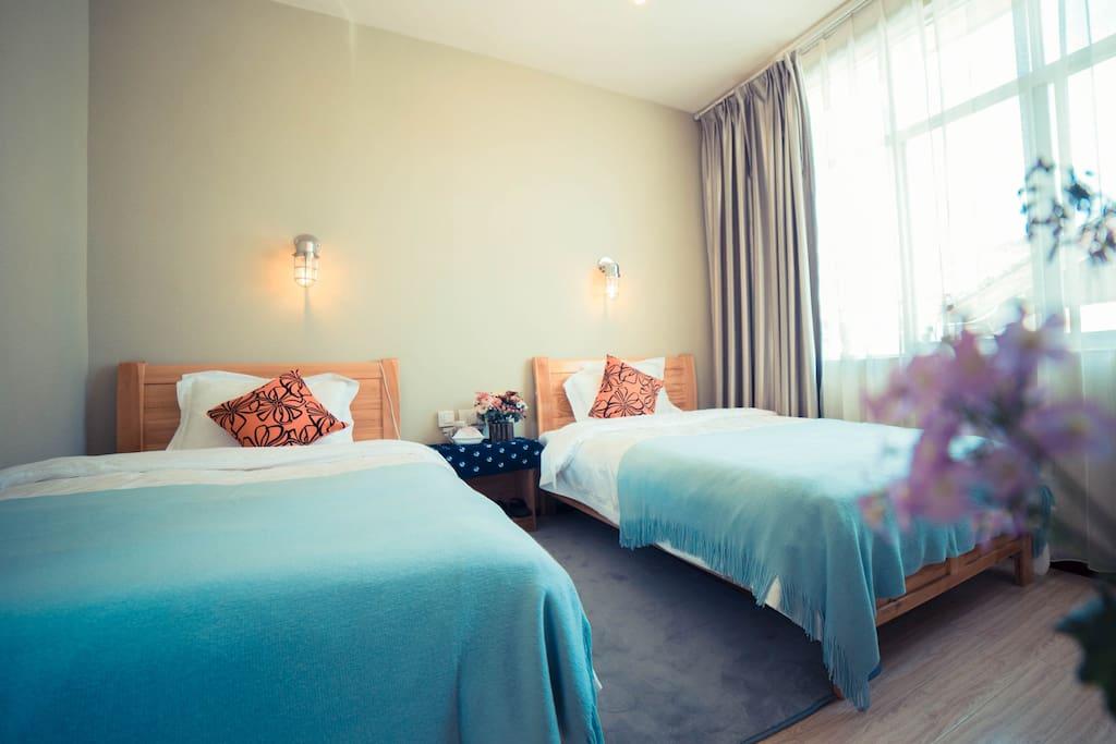 1.2米床的景观房 双人间