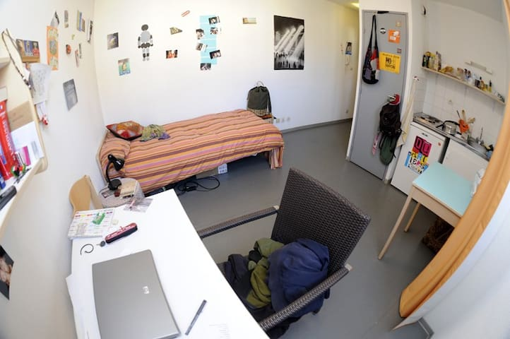 Joli studio pour petits voyages