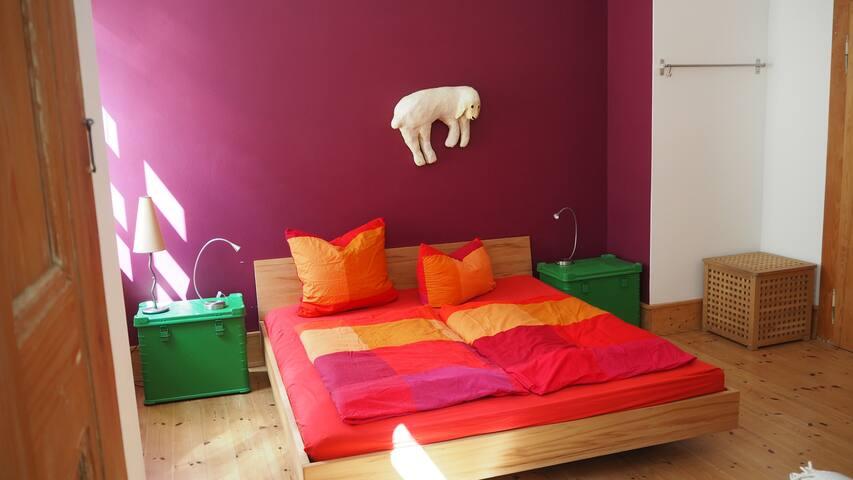 Heidelberg Weststadt ruhiges Doppelzimmer mit Bad