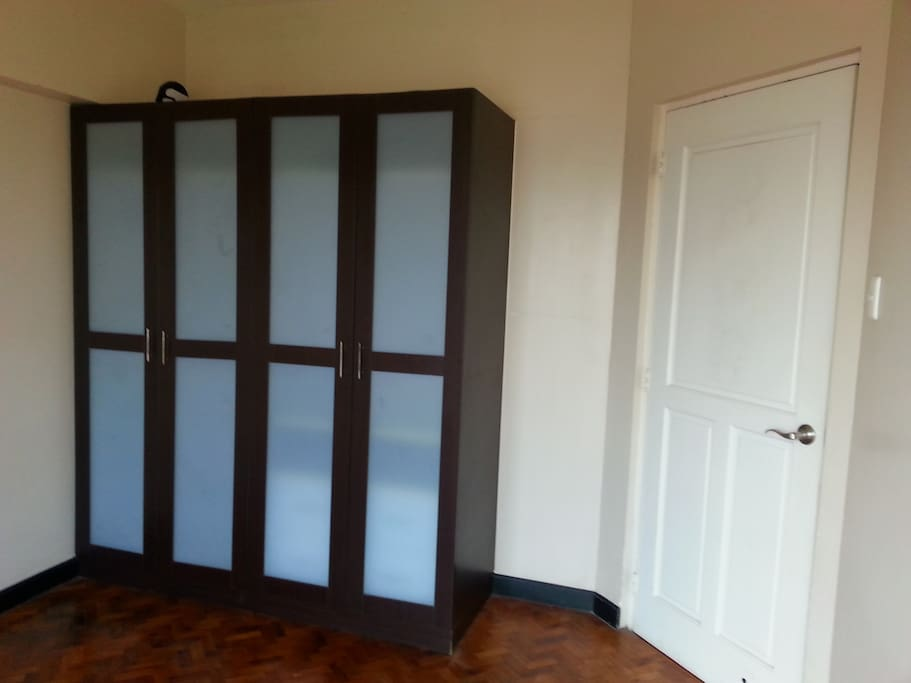 Master Bedroom with Cabinet