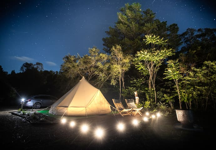 Ovens River Glamping Under The Stars ~ Gang Gang~