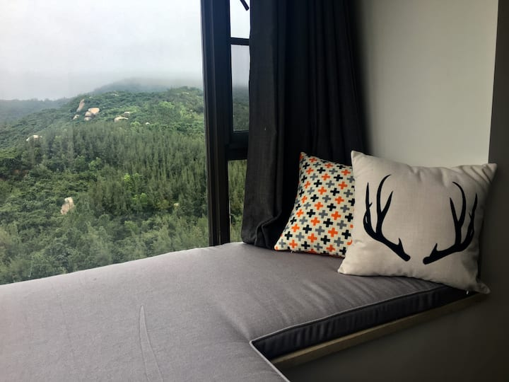 海南文昌铜鼓岭国际旅游度假区、高层大视野、近航天卫星发射中心、亲子三居北欧风情公寓美宅