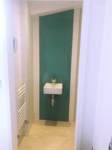 Wetoom with shower 2