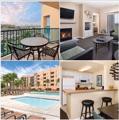 1 Bedroom Wyndham Oceanside, CA - Oceanside - Appartement