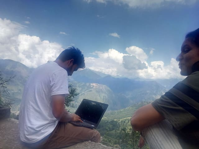 Working in the clouds