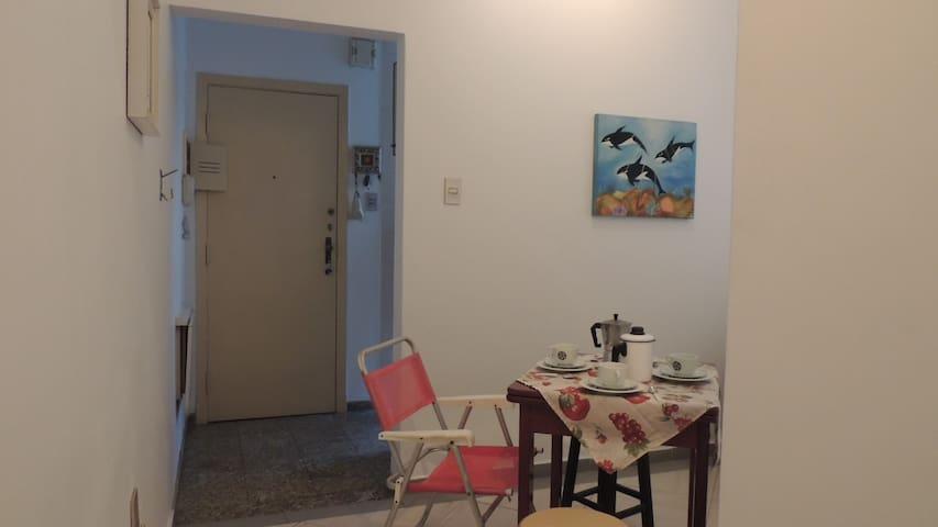 sala e corredor