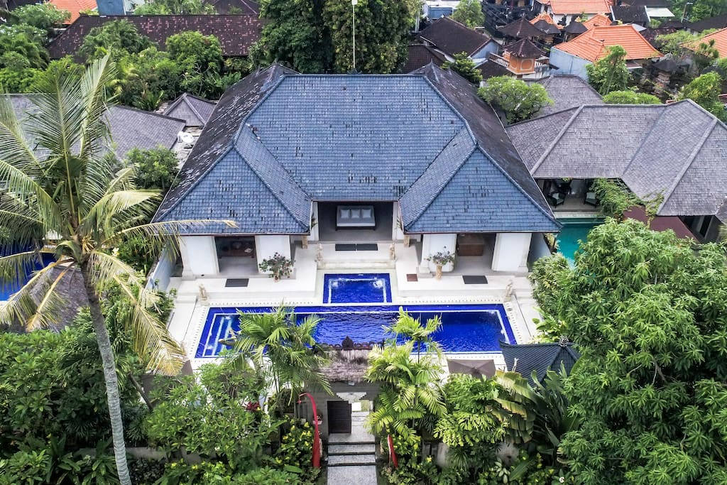 One of the largest Villas in central Seminyak.