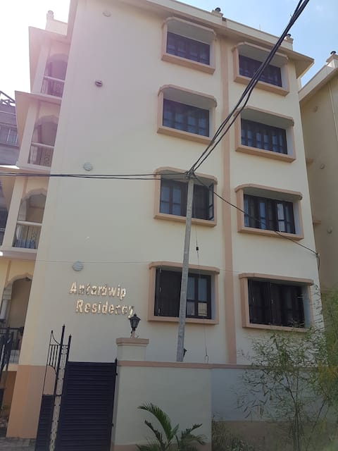Furnished , Clean,secured 1 BHK(2B) near ISKCON