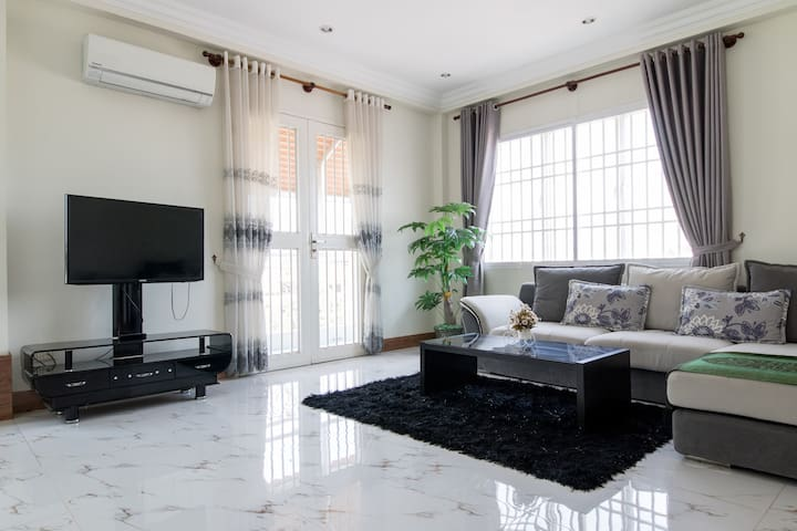 New Cozy Family Apartment - Phnom Penh - Huoneisto