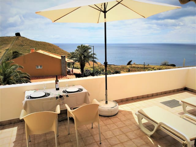 BEACHFRONT HOUSE ATALAIA-Privacy Tranquility Sight