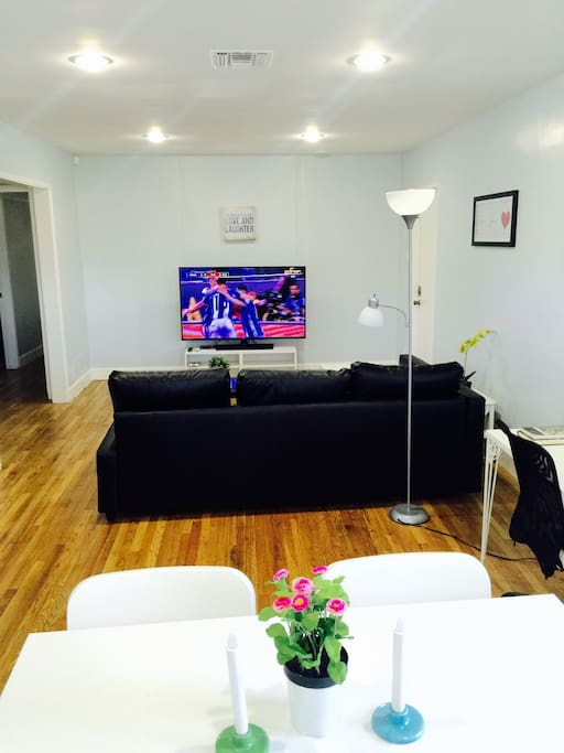 Large TV with Directv