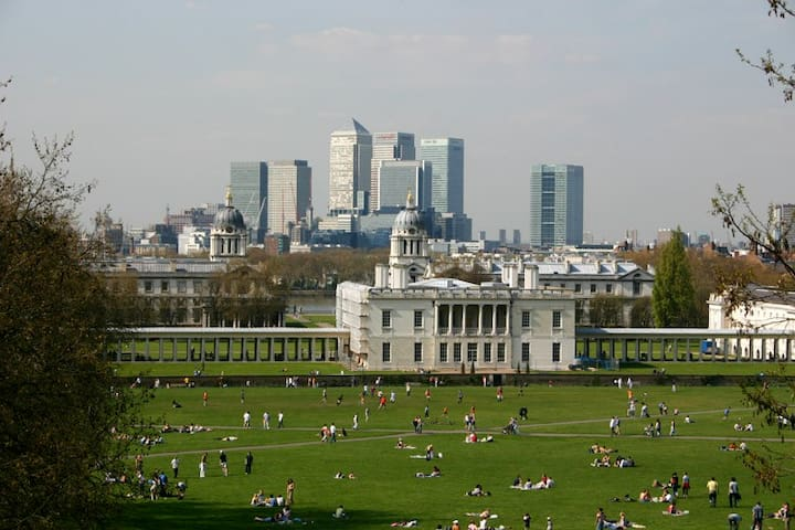 Greenwich viewing (short walk)